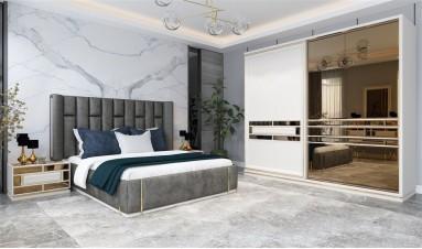 Elit Yatak Odası Krem