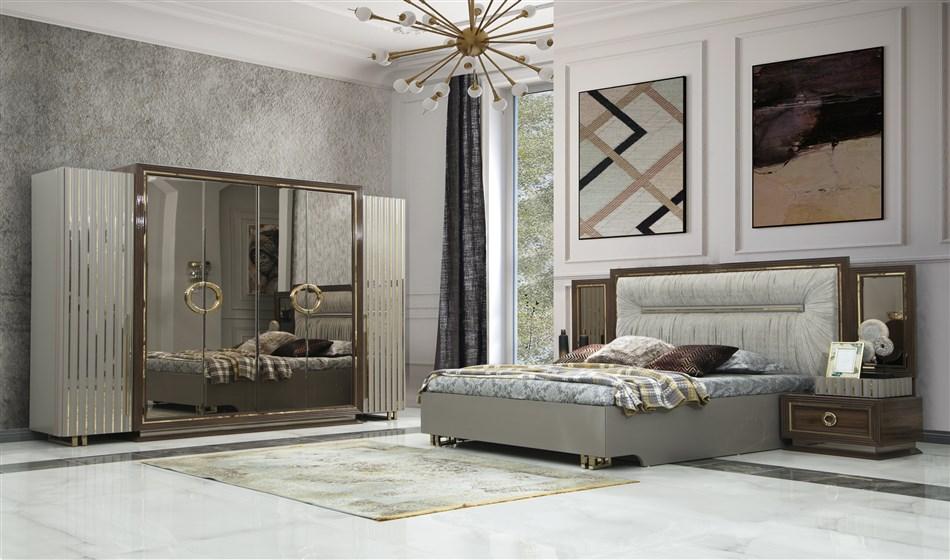 Glorya Yatak Odası Ceviz