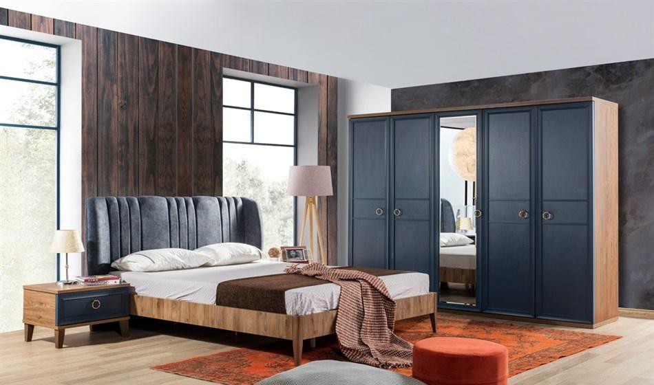 Melis Yatak Odası Mavi