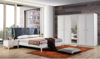 Melis Yatak Odası Beyaz