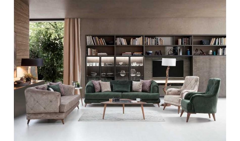 Plus Sofa 3+3+1