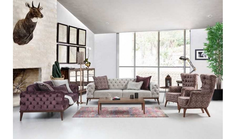 Prada Sofa 3+3+1
