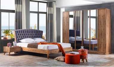 Rozela Sade Yatak Odası Takımı