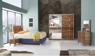 Efe Yatak Odası Ceviz