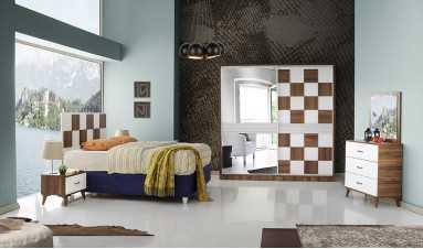 Efe Yatak Odası Beyaz