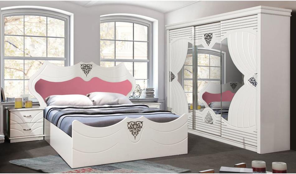 Perdeli Yatak Odası Takımı