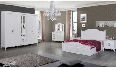 Betül Yatak Odası ( beyaz)