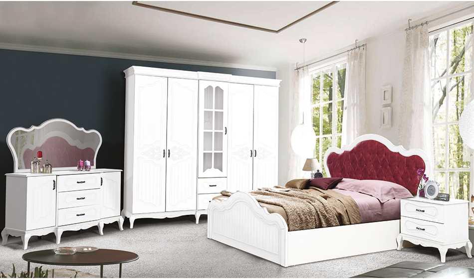 Şah Country Yatak Odası(white)