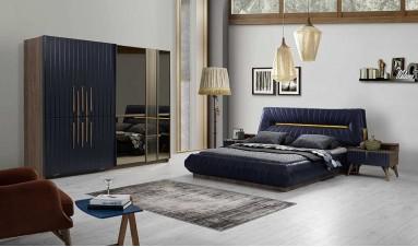 Marcelo Yatak Odası Takımı (füme)