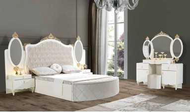 Oscar Yatak Odası Kar Beyaz