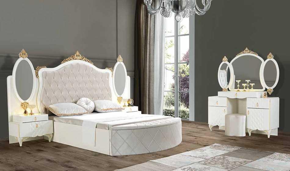 Oscar Yatak Odasi Kar Beyaz
