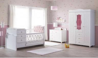 Capris Bebek Odası Pembe