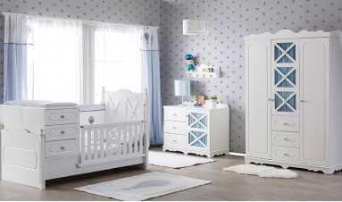 Carmen Bebek Odası Mavi