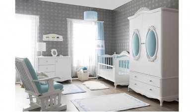 Garland Genç Odası Mavi