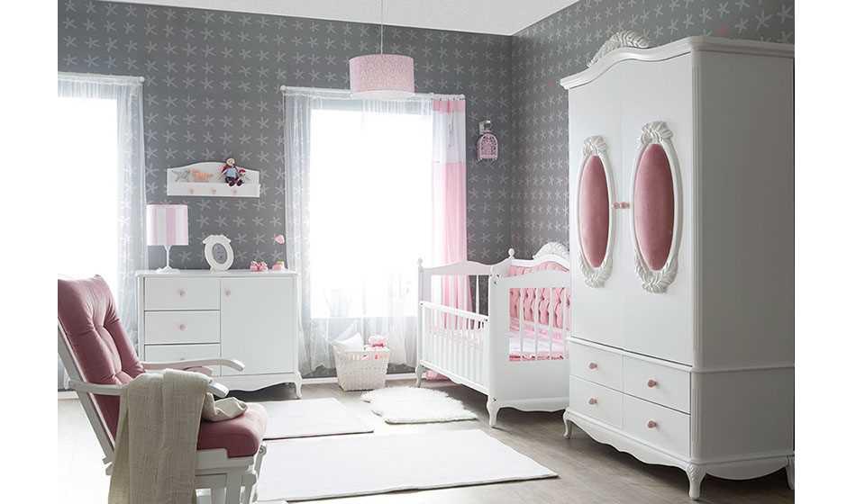 Garland Bebek Odası Pembe