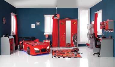 Turbo S Arabalı Genç Odası