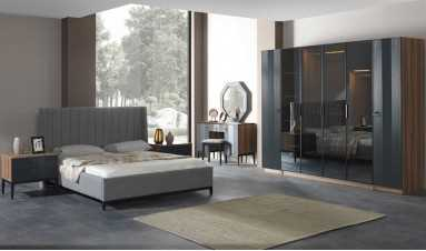 Mass Ceviz Yatak Odası
