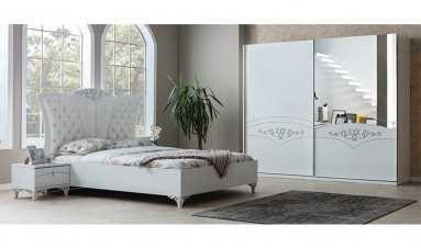 Rose Beyaz Yatak Odası Takımı