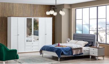 Zambak 6 Kapılı Yatak Odası Takımı