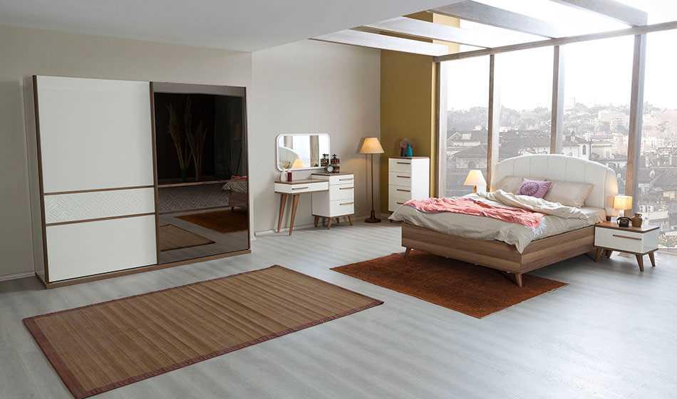 Modern İznik Yatak Odası