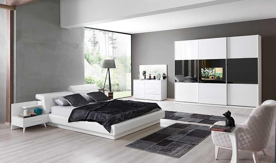 Madrid Televizyonlu Yatak Odası (32 İNÇ)