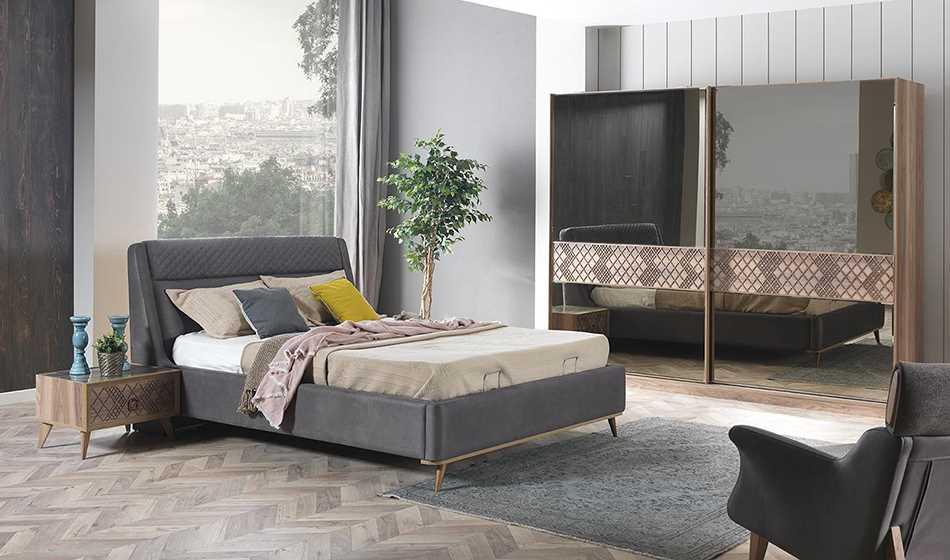 Natural Yatak Odası Takımı