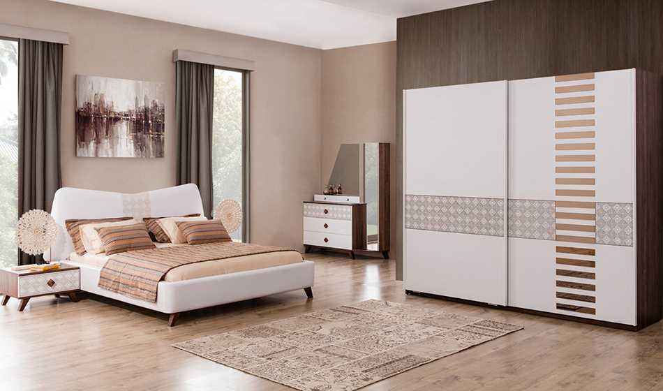 Barcelona Yatak Odası ( Kendinden Bazalıdır )