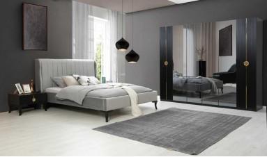 Keops Siyah Yatak Odası Takımı