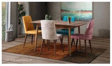 Bodrum Mutfak Masası Ceviz