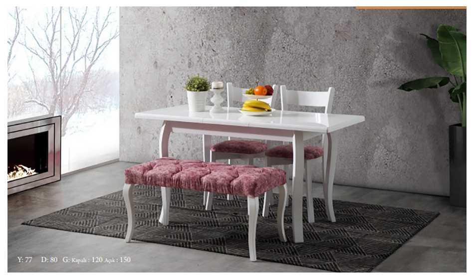 Efes Mutfak Masası Bençli