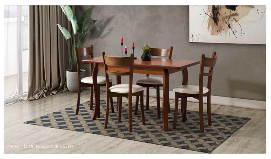 Efes Mutfak Masası Ceviz